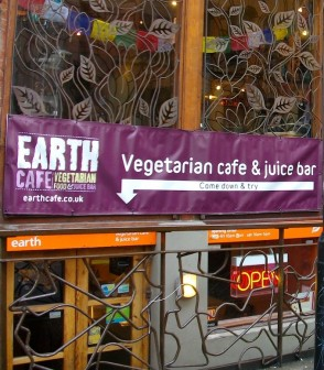 Earth Cafe Front